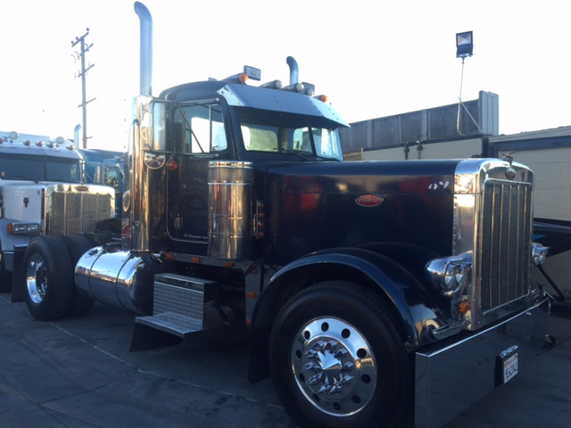 Peterbilt 379 Exhd Single Axle Daycab Truck Sales Long Beach