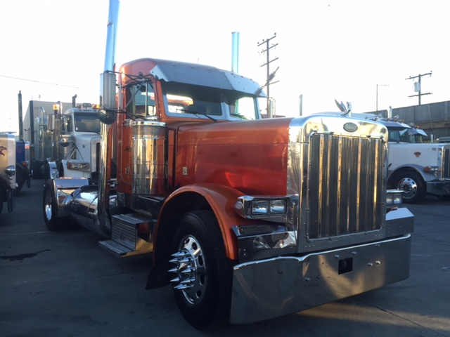 1998 Peterbilt 379 Exhd Single Axle Show Truck Truck Sales Long