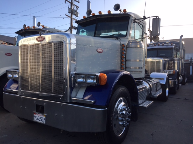 1999 Peterbilt 379 Daycab Single Axle Truck Sales Long Beach Los