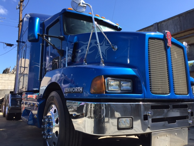 New Dump Trucks >> 2004 Kenworth T600 Custom Paint And Maintenance Records! | Truck Sales Long Beach & Los Angeles