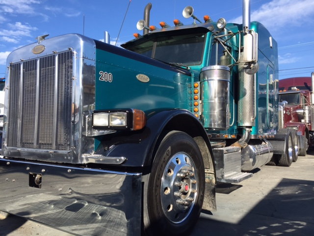 1999 Peterbilt 379 Exhd With Pto Wet Kit Fresh Overhaul Truck