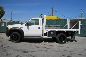One Owner 07 Ford F550 Stake bed with Only 5,779 Original Miles!