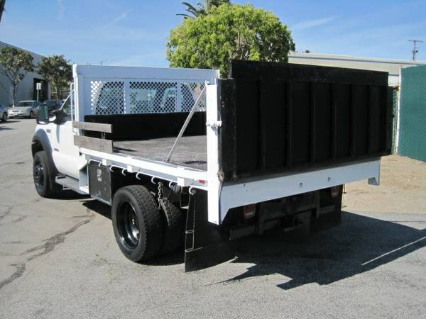 F550 For Sale >> 2007 Ford F550 10′ Flatbed with Lift Gate and only 5,779 ...