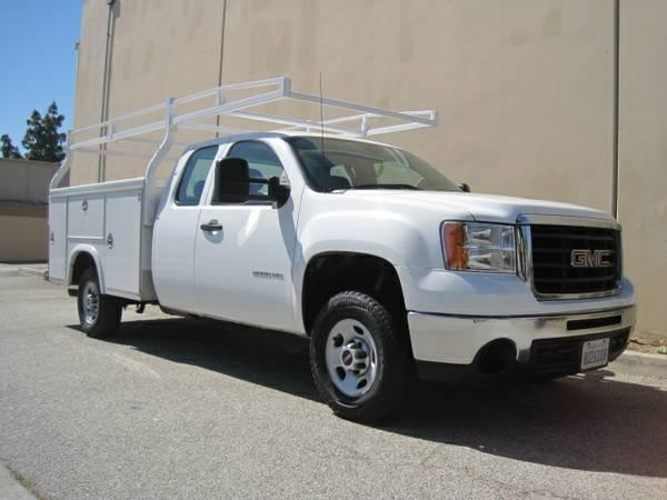 2010 GMC Sierra 2500 HD Service Body Truck | Truck Sales ...
