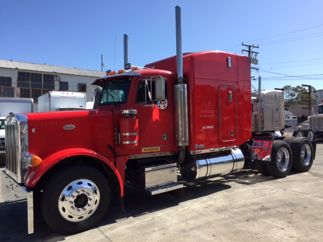 1996 Peterbilt 379 with CAT Power E Log Exempt