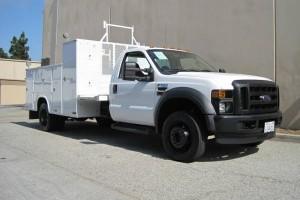 2009 Ford F-550 Mechanics 4x4 Truck with Warranty