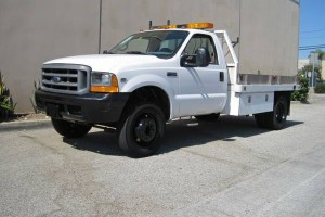 One Owner Low Miles 99 Ford F450 Flatbed!