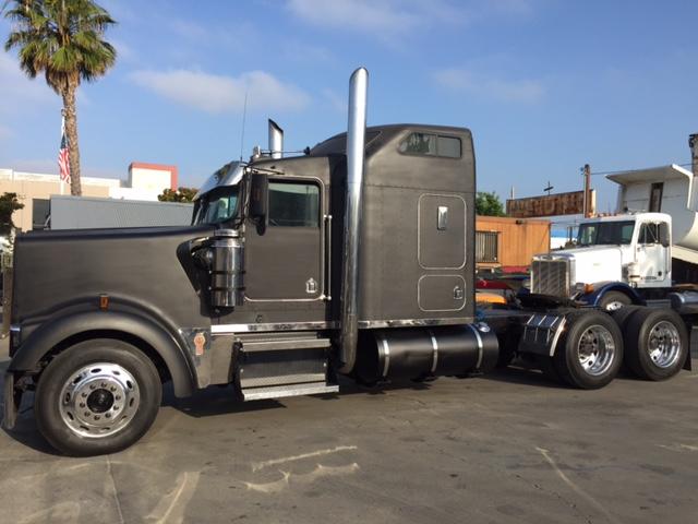 custom 96 kenworth w900l truck sales long beach los angeles. Black Bedroom Furniture Sets. Home Design Ideas