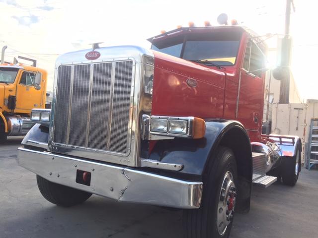 California Compliant Peterbilt 379 Single Axle Daycab ...