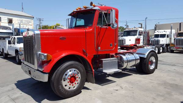 2000 Peterbilt 379 Single Axle Daycab Truck Sales Long Beach Los