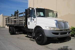 2005 International 4300 Stake Bed, Low Miles!