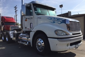 07 Freightliner Columbia Daycab 2 line Wet Kit & DPF