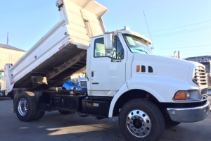 2003 Sterling 5 Yard Dump Truck with DPF Filter