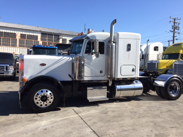 Single Cab Diesel For Sale >> 1998 Peterbilt 379 EXHD Flattop Sleeper Single Axle | Truck Sales Long Beach & Los Angeles