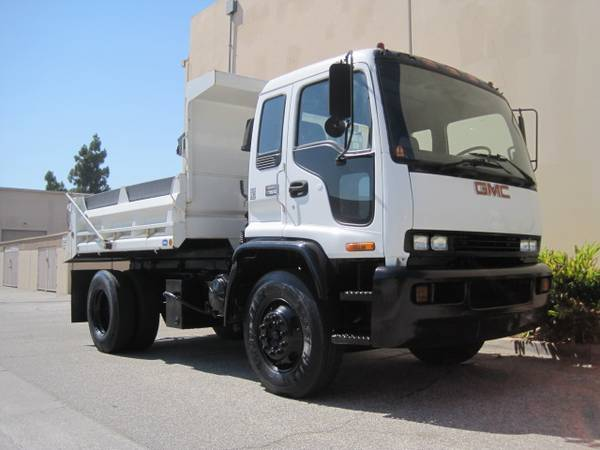 1997 GMC T7500 Dump Truck 3/5 Yard LOW MILES DPF FILTER